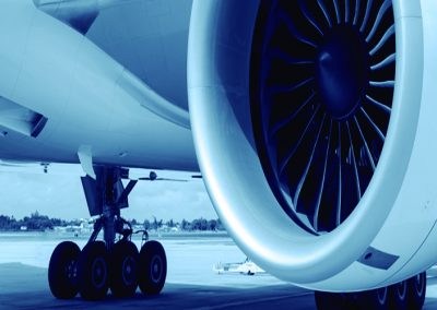Titanium and iron for the aerospace industry